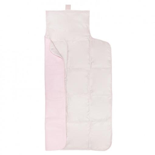 Αλλαξέρια ροζ πολυδερματίνη απλή ανοιχτή