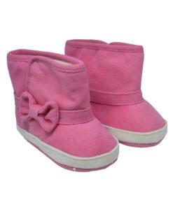 Ζευγάρι φούξια παπούτσια αγκαλιάς μποτάκι