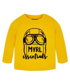"""Κίτρινη μπλούζα μακρυμάνικη """"Myrl Essentials"""""""