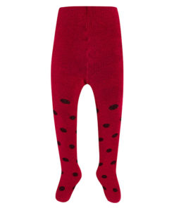 Καλσόν με βούλες κόκκινο