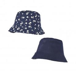 """Καπέλο διπλής όψης μπλε """"Φοίνικες"""""""