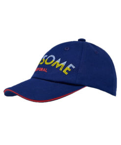 """Καπέλο μπλε """"Awesome"""""""