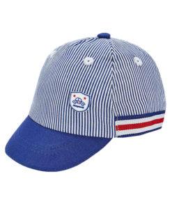 """Καπέλο ριγέ μπλε """"Αυτοκίνητο"""""""