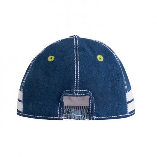 """Καπέλο τζιν """"Βέσπα"""" πίσω μέρος"""