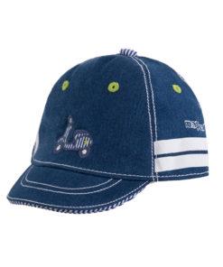 """Καπέλο τζιν """"Βέσπα"""""""
