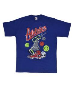 """Κοντομάνικη μπλούζα """"Athletics"""""""