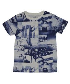 """Κοντομάνικη μπλούζα """"Sunset"""""""