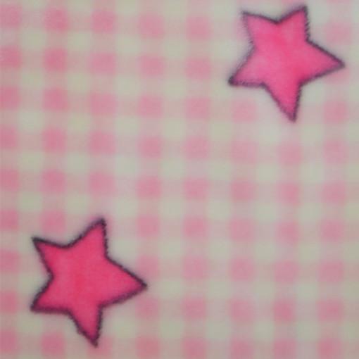 """Κουβέρτα κούνιας """"Αρκουδάκια - Αστεράκια"""""""