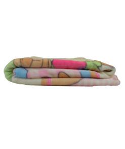 """Κουβέρτα κούνιας """"Αρκουδάκια"""" διπλωμένη"""