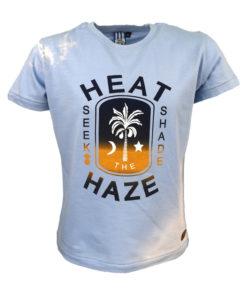 """Μπλούζα κοντομάνικη γαλάζια """"Heat Seek Shade"""""""