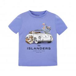 """Μπλούζα κοντομάνικη γαλάζια """"V Islanders"""""""
