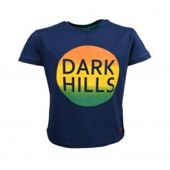 """Μπλούζα κοντομάνικη μπλε """"Dark Hills"""""""