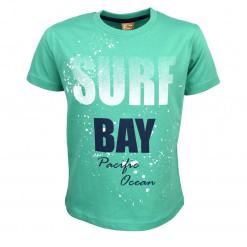 """Μπλούζα κοντομάνικη πράσινη """"Surf Bay"""""""