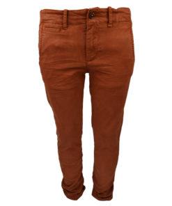 Παντελόνι Κεραμιδί μακρύ με τσέπες