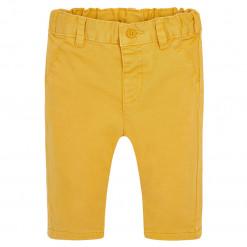 Παντελόνι κίτρινο λοξότσεπο καπαρτινέ