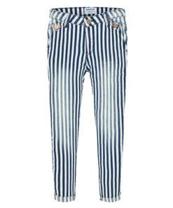Παντελόνι καπαρτινέ ριγέ μπλε