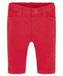 Παντελόνι κόκκινο λοξότσεπο καπαρτινέ βασικό