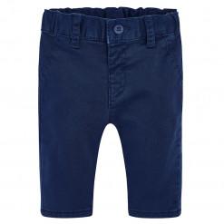 Παντελόνι μπλε σκούρο λοξότσεπο καπαρτινέ