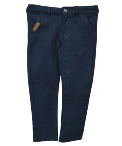 """Παντελόνι σκούρο μπλε λοξότσεπο """"Funky Collection"""""""