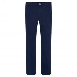 Παντελόνι σκούρο μπλε μακρύ λοξότσεπο καπαρτινέ