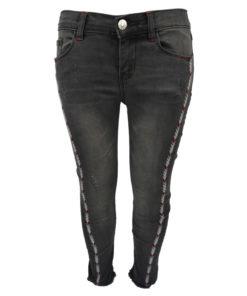 Παντελόνι τζιν μαύρο πεντάτσεπο