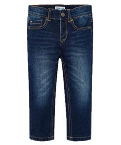 Παντελόνι τζιν regular fit με ξεβάμματα