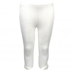 Παντελόνι φόρμα απλό λευκό