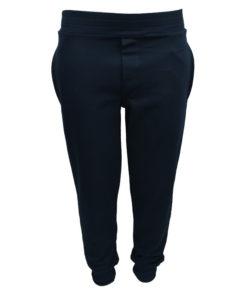 Παντελόνι φόρμα μπλε με λάστιχο στα πόδια και στην μέση