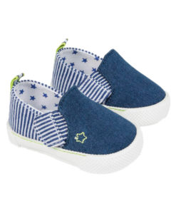 """Παπούτσια αγκαλιάς μπλε με βέλκρο """"Αστέρι"""""""