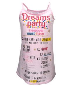 """Πιτζάμα νυχτικό ροζ """"Party"""""""