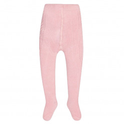 Ροζ καλσόν με βολάν