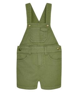 Σαλοπέτα κοντή πράσινη με τσέπες
