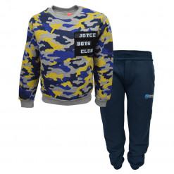 """Σετ μακρυμάνικη μπλούζα με σκούρα μπλε φόρμα παντελόνι """"Boys Club"""""""