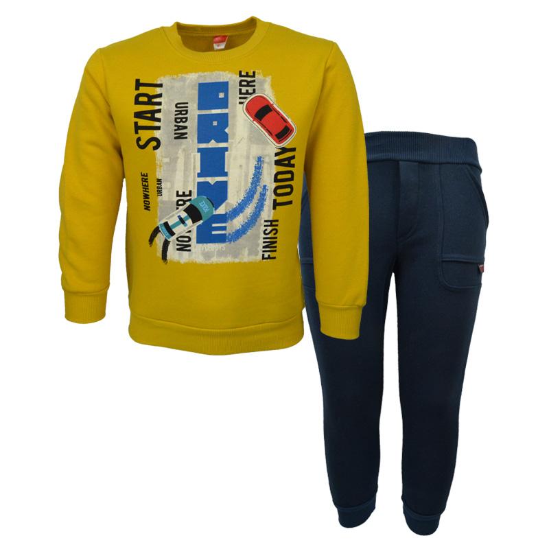 35ef569a132f Σετ μακρυμάνικη μπλούζα με φόρμα παντελόνι