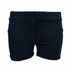 Σορτσάκι μπλε απλό με ψεύτικες τσέπες