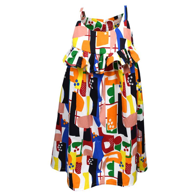 78092c355b0 Φόρεμα αμάνικο πολύχρωμο