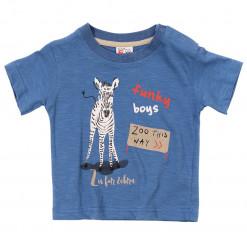 """Κοντομάνικη μπλούζα """"Zoo this way"""""""