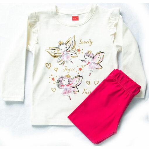"""Σετ μακρυμάνικη μπλούζα με κολάν """"Lovely Joyce Fairy"""""""