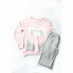 """Πιτζάμα με μακρυμάνικη μπλούζα και παντελόνι """"Sweet Dreams Bear"""""""