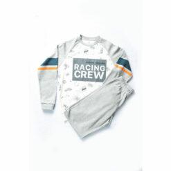 """Σετ μακρυμάνικη μπλούζα με φόρμα παντελόνι """"Racing Crew"""""""