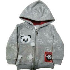 """Ζακέτα φούτερ με κουκούλα """"Panda Pocket"""""""