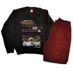 """Σετ μακρυμάνικη μπλούζα με φόρμα παντελόνι """"Mission"""""""