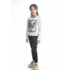 """Σετ μακρυμάνικη μπλούζα ανοιξιάτικη με παντελόνι φόρμας """"Butterfly 3D"""""""