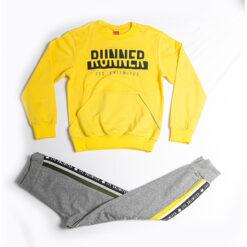 """Σετ μακρυμάνικη μπλούζα ανοιξιάτικη με παντελόνι φόρμας """"Runner"""""""