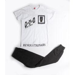 """Σετ κοντομάνικη μπλούζα με βερμούδα """"Trademark"""""""