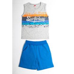 """Σετ αμάνικη μπλούζα με βερμούδα """"Surferboy"""""""