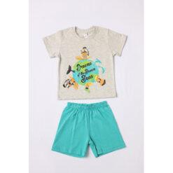 """Σετ πιτζάμες με κοντομάνικη μπλούζα και σορτσάκι """"Dreams of the Seven Seas"""""""