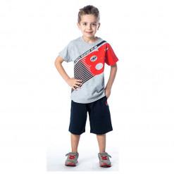 """Σετ κοντομάνικη μπλούζα με βερμούδα """"Athletic department"""""""