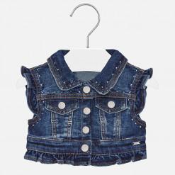 """Γιλέκο τζιν αμάνικο """"Baby jeans"""""""