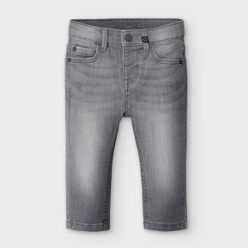 """Παντελόνι τζιν κλασσικό με ξεβάμματα """"Grey Jeans"""""""